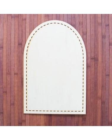 Wood Board 025-30 Altarpiece Backstitch 20x30cm