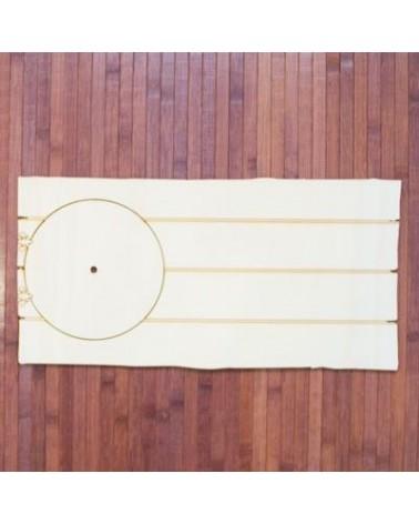 Soporte de madera 027 Cartel Reloj