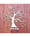 <h2>Wood Board 030-60 Photos Tree 60x60cm</h2> <p>Approximate Size (width x height):</p> <ul><li>60 x 60 cm</li> </ul><p>Choice between wood and cardboard</p>
