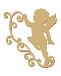 Silueta Figura 001 Angel Cupido