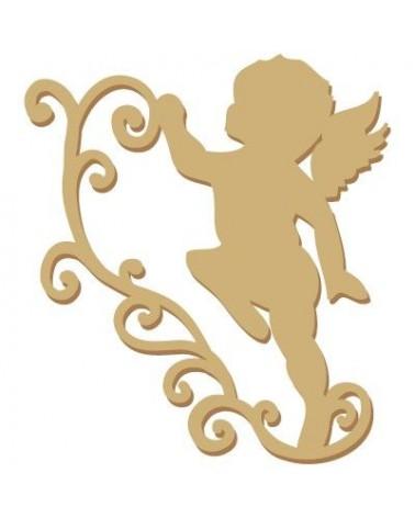 Figure Silhouette 001 Angel
