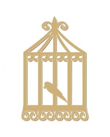 Silhouette Figur 074 Käfig