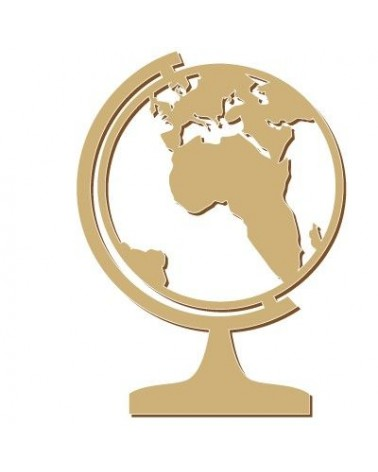 Silhouette Figur 093 Weltkarte