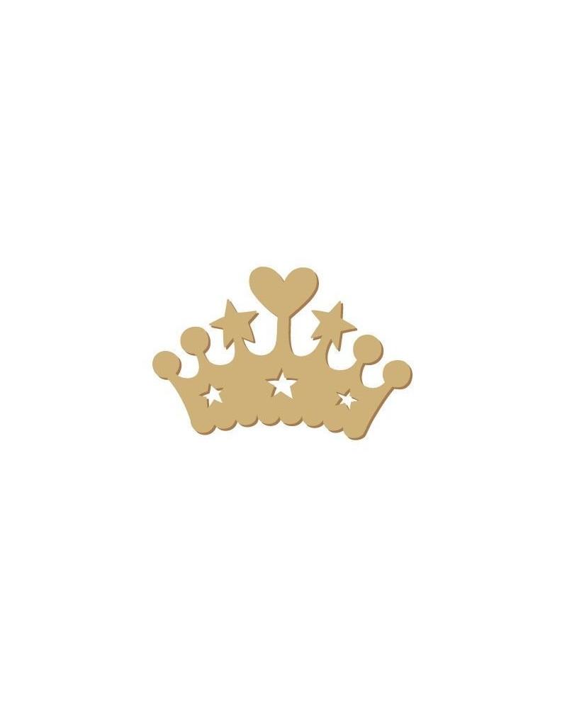 Silueta Mini 080 Corona corazones