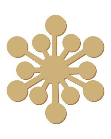 Silhouette Festivities 002 Snowflake