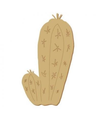 Silueta Figura 107 Cactus 2 brazos