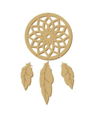 Silhouette Figure 111 Dream Catcher