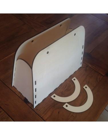 Soporte Madera 3D 003 Maleta 40x27x16cm