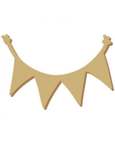 Silueta Figura 118 Banderolas