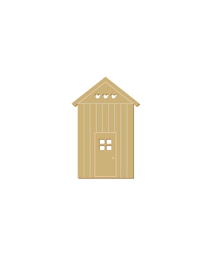 Silueta Figura 125 Casa Playa