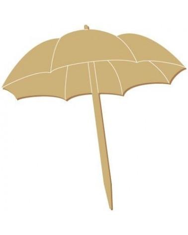 Silueta Figura 129 Sombrilla