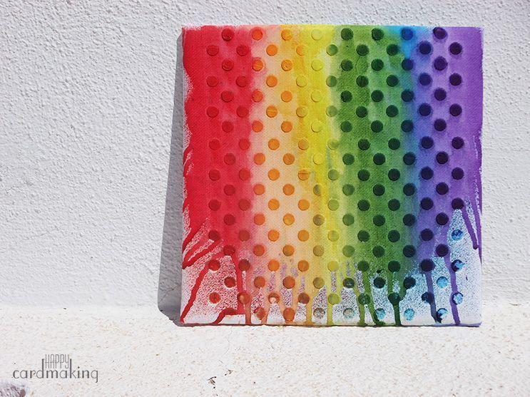tarjeta stencil topitos
