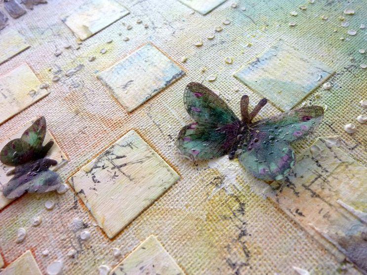 nikosinas cuadro stencils ladrillos suciedad pompas