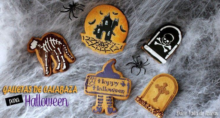 rakel cakes galletas de calabaza para halloween