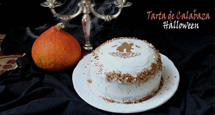 rakel cakes tarta de calabaza para halloween
