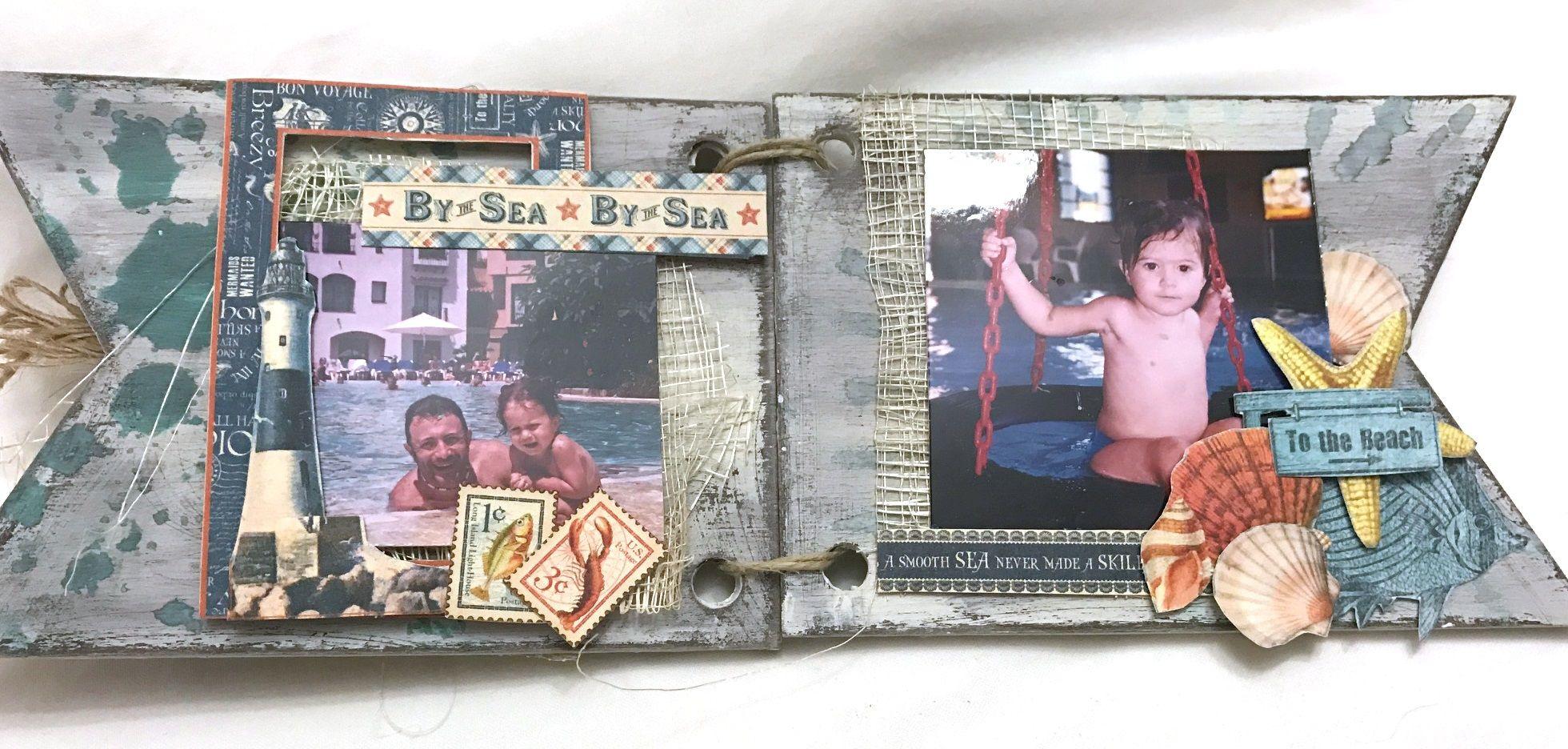 minialbum con materiales todostencil