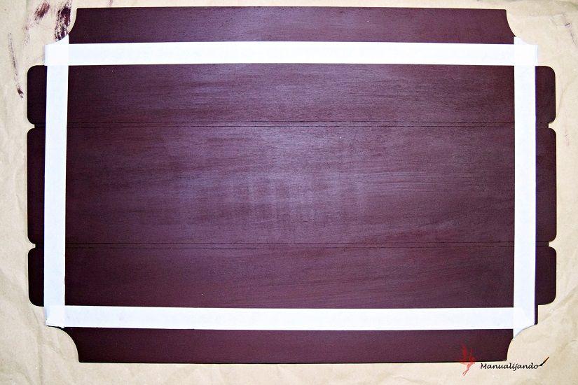 soporte madera todostencil plantilla markal
