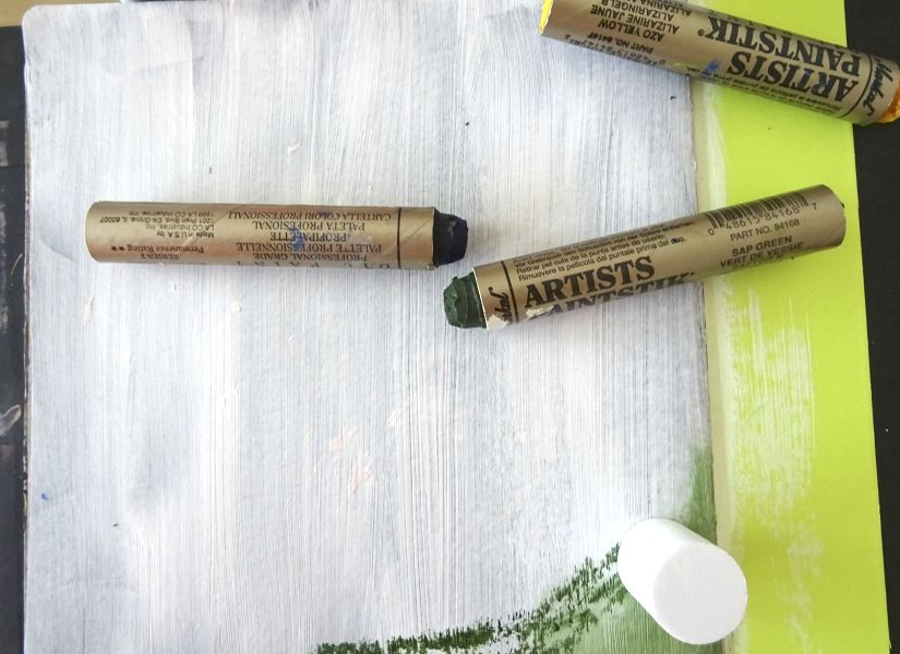 art journal todostencil stencil markal nikosinas