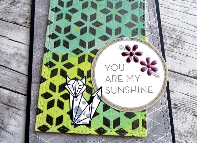 tarjeta fondo scrap stencil de todostencil