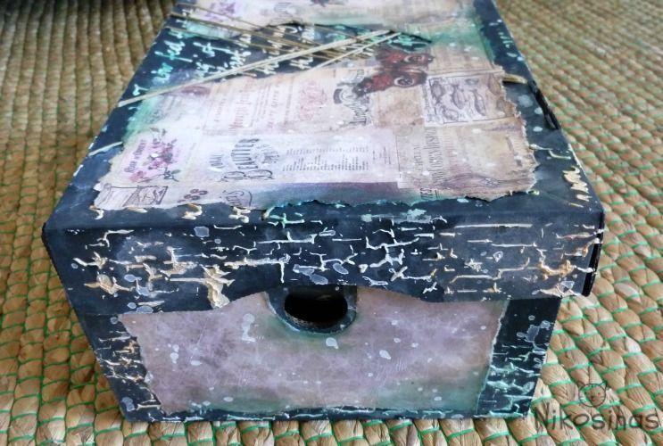 nikosinas caja craquelada
