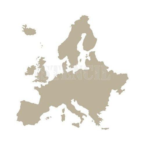 todostencil stencil mapa europa