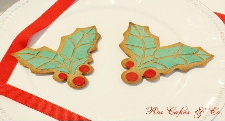 ros cakes and co galletas navideñas