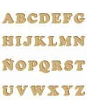 <h2>Alphabet Silhouette 003 Cooper Capital Letter 15mm</h2> <p>Approximate size (heigth):</p> <ul> <li>1,5 x 1,5 cm (0,6 x 0,6 in)</li> </ul>