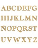 <h2>Alphabet Silhouette 005 Castellar Capital Letter 60mm</h2> <p>Approximate size (heigth):</p> <ul> <li>6 x 6 cm (2,4 x 2,4 in)</li> </ul>