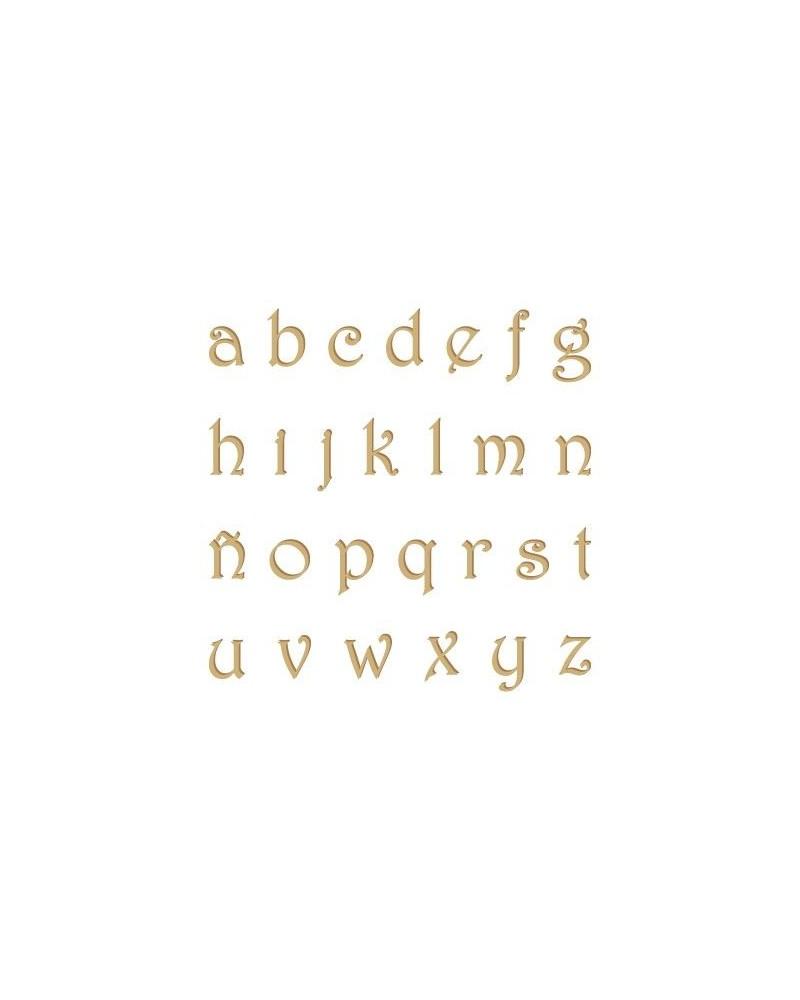 Silhouette Alphabet 007 Harrington Lowercase 10mm