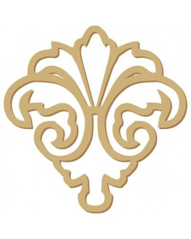 Wood Shape Damask 002
