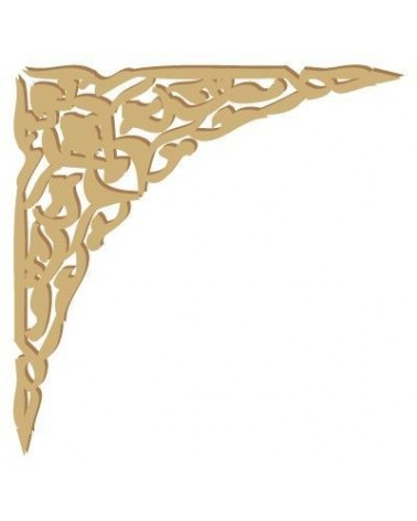 Wood Shape Damask 011