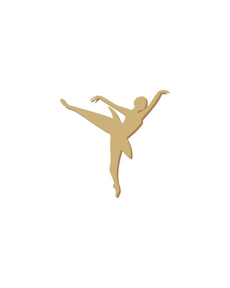 Silhouette Figure 002 Bailarina Ballet