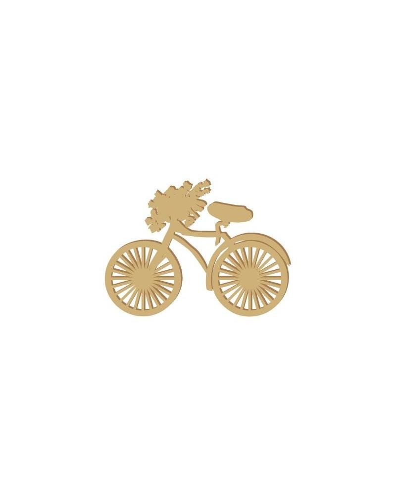 Silhouette Figure 007 Bicicleta
