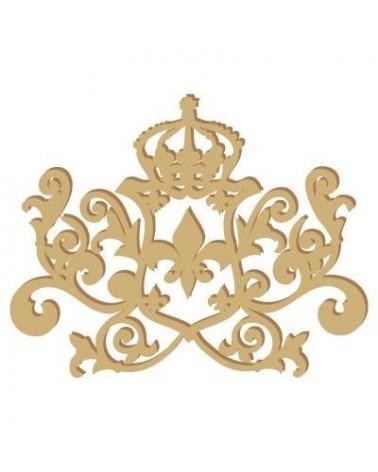 Wood Shape 021 Crown Filigrana