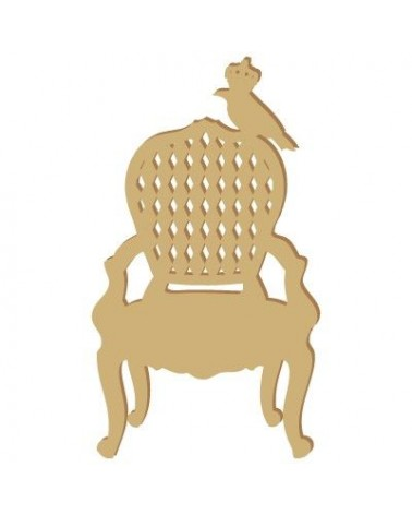 Silhouette Figure 026 Draught Chair