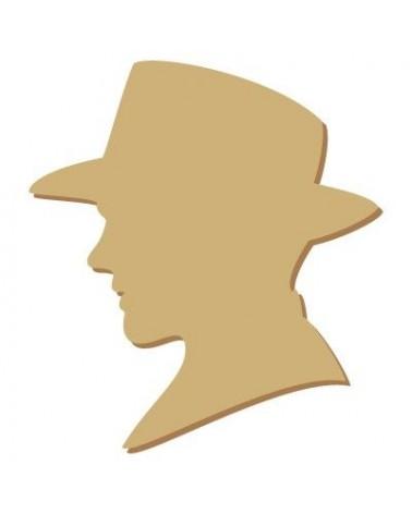 Silhouette Figur 040 Mann