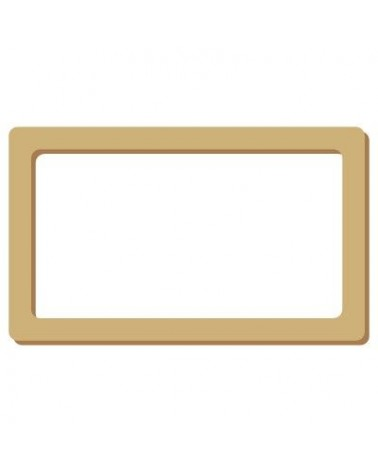 Wood Shape Frame 015