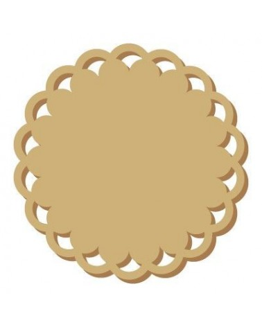 Wood Plaque Shape 022