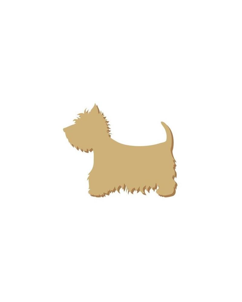 Silhouette Mini 001 Perro Westy