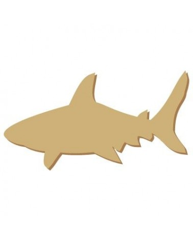 Wood Shape Mini 029 Shark