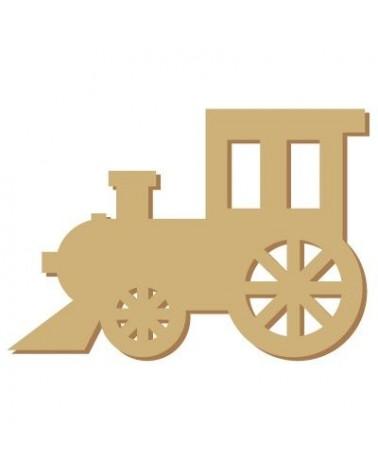 Wood Shape Mini 033 Train