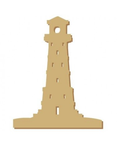 Wood Shape Mini 041 Lighthouse