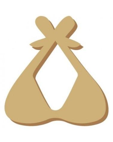Wood Shape Mini 043 Bikini Top