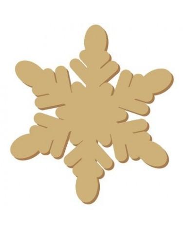 Mini Silhouette 058 Christmas 1 Snowflake