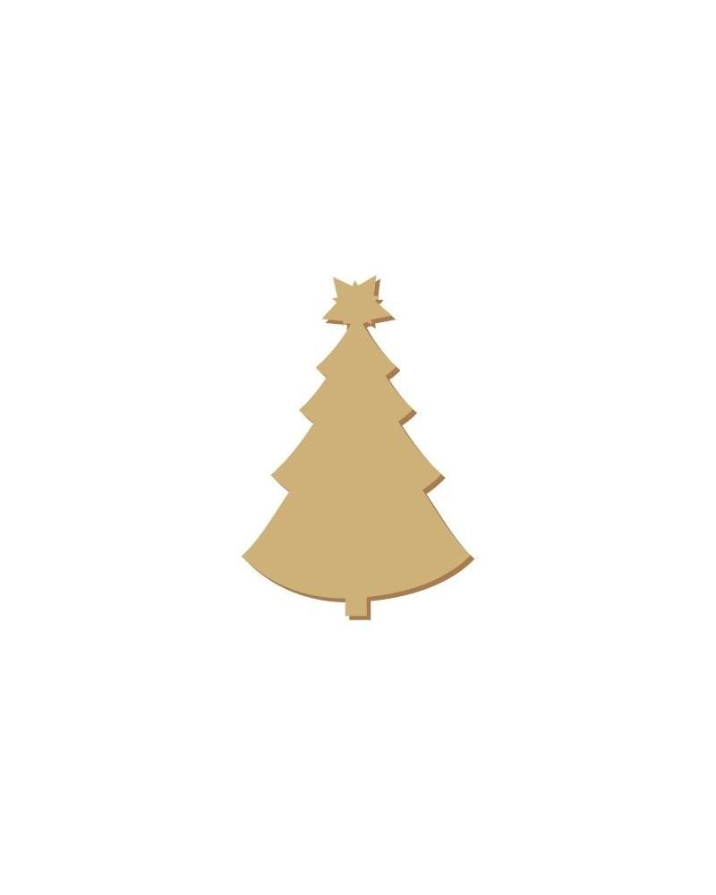 Silueta Mini 059 Navidad 2 Árbol