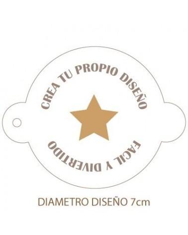 Stencil Personalizado 002 para Galletas
