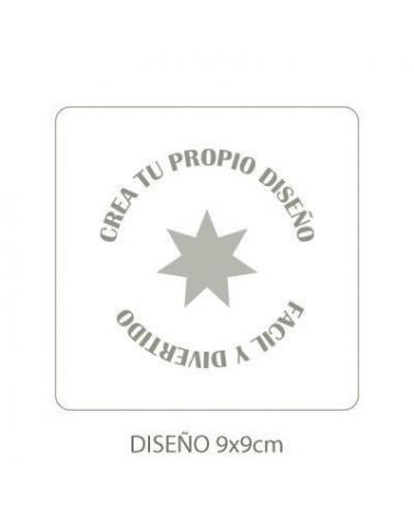 Stencil Personalizado 008 12x12cm