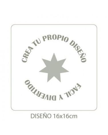 Stencil Personalizado 010 20x20cm