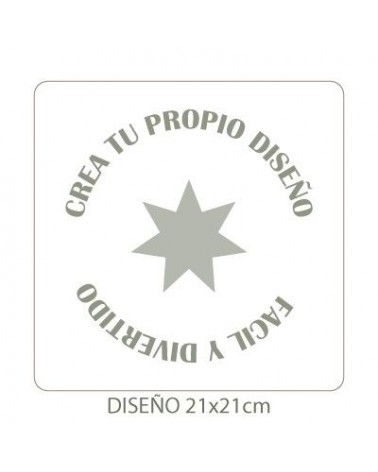 Stencil Personalizado 011 25x25cm