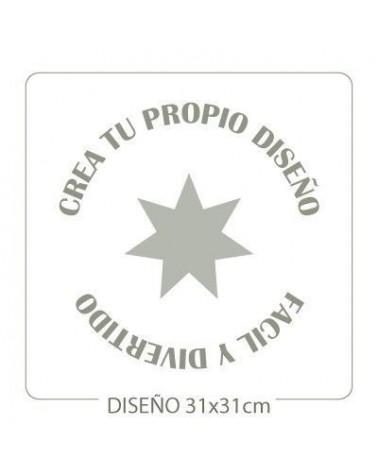 Stencil Personalizado 013 35x35cm
